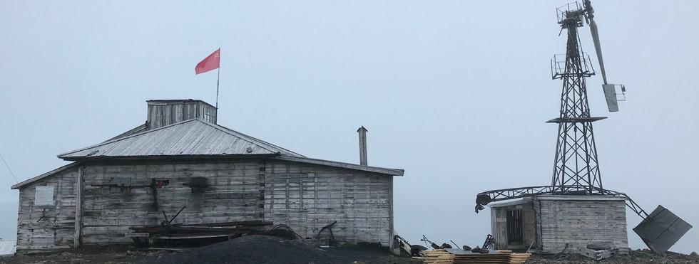Tikhaya Bukta, Hooker Island, Franz Josef Land