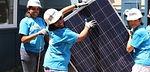 Female Solar Installers