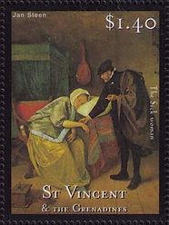 sick woman jan steen St Vicent.jpg