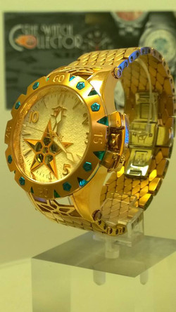 Watchstar American Star Open Heart Automatic Rose Gold