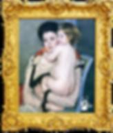 Reine-Lefebvre-Holding-a-Nude-Baby-www.m