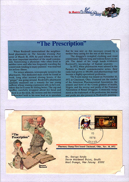 Prescription,medical philately,www.medic