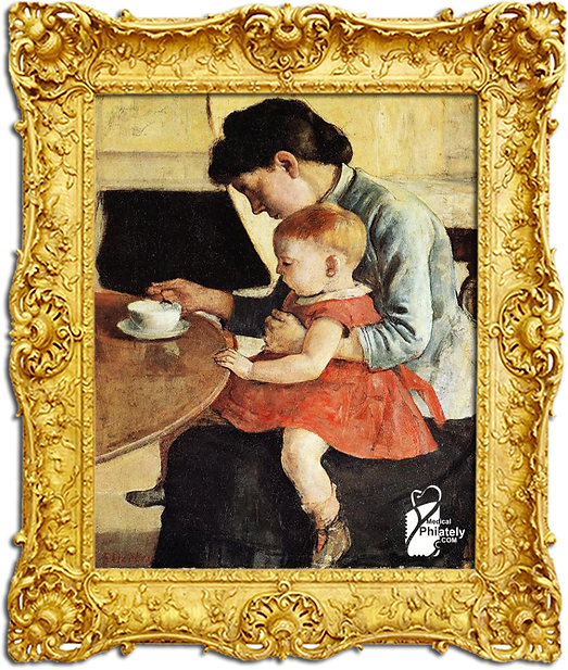 Mother_and_child_sitting_at_the_table,_1