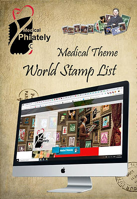 medical theme list.www.medicalphilately.