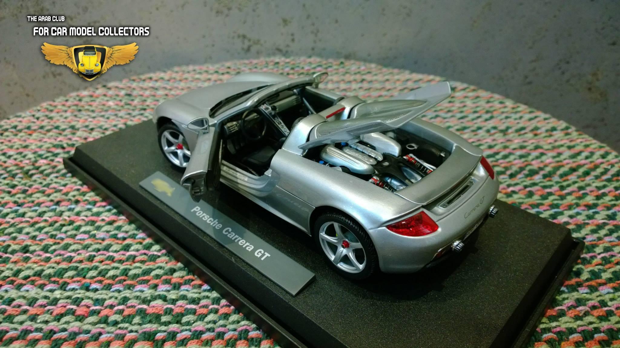 Porsche Carrera GT 1-18