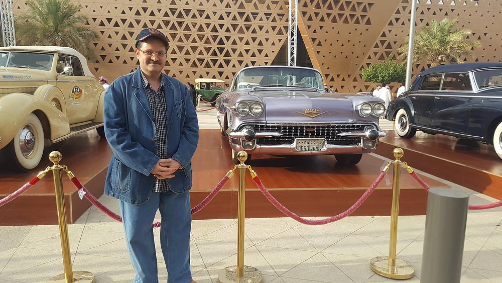 Dr Amir Monir, Vintage car fair