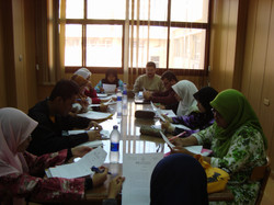 During PBL Session