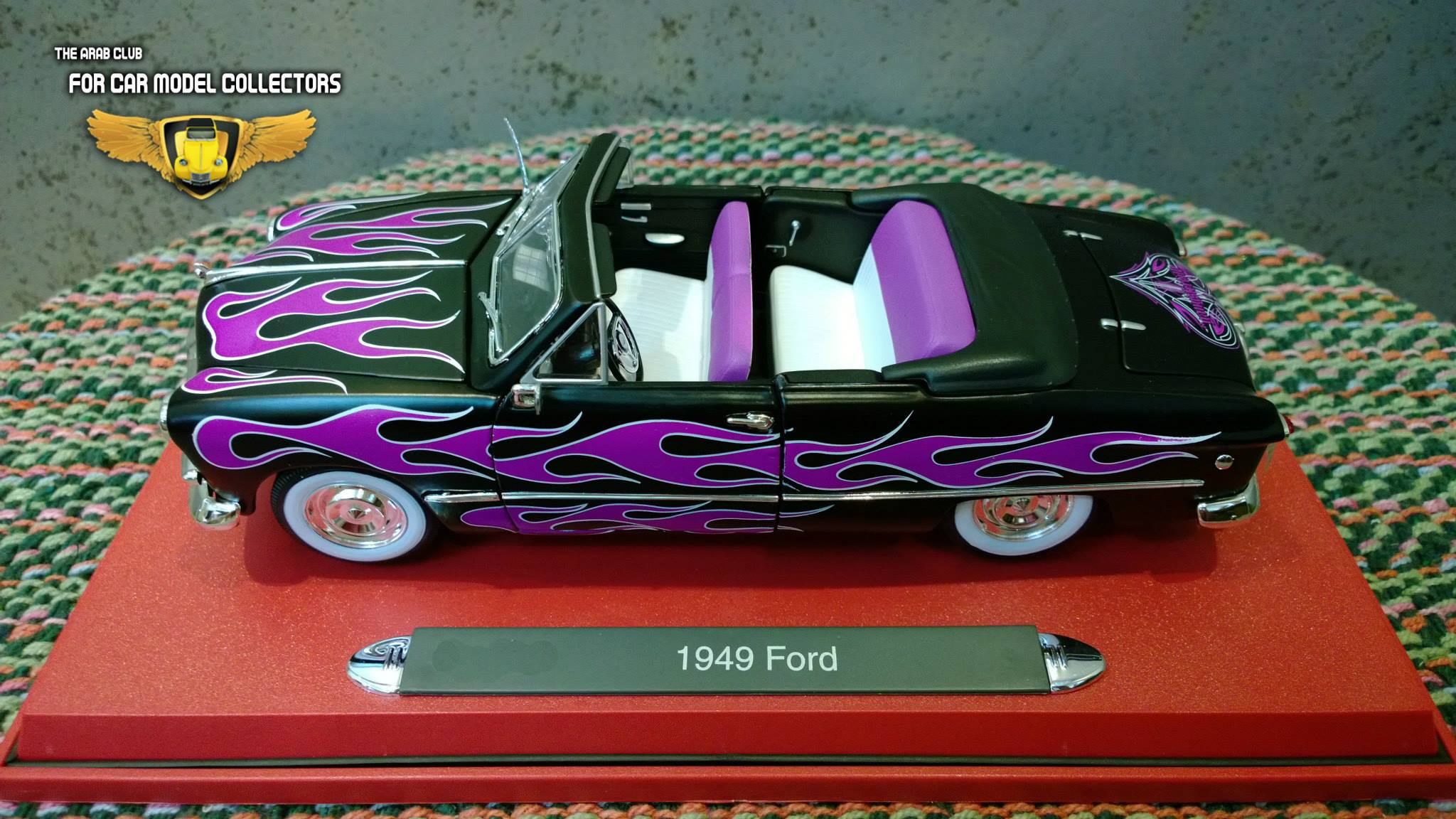 Ford 1949 Customized Convertible