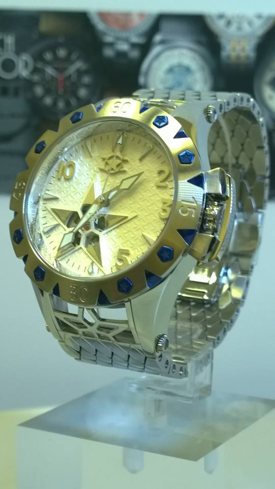 Watchstar American Star Open Heart Automatic silver