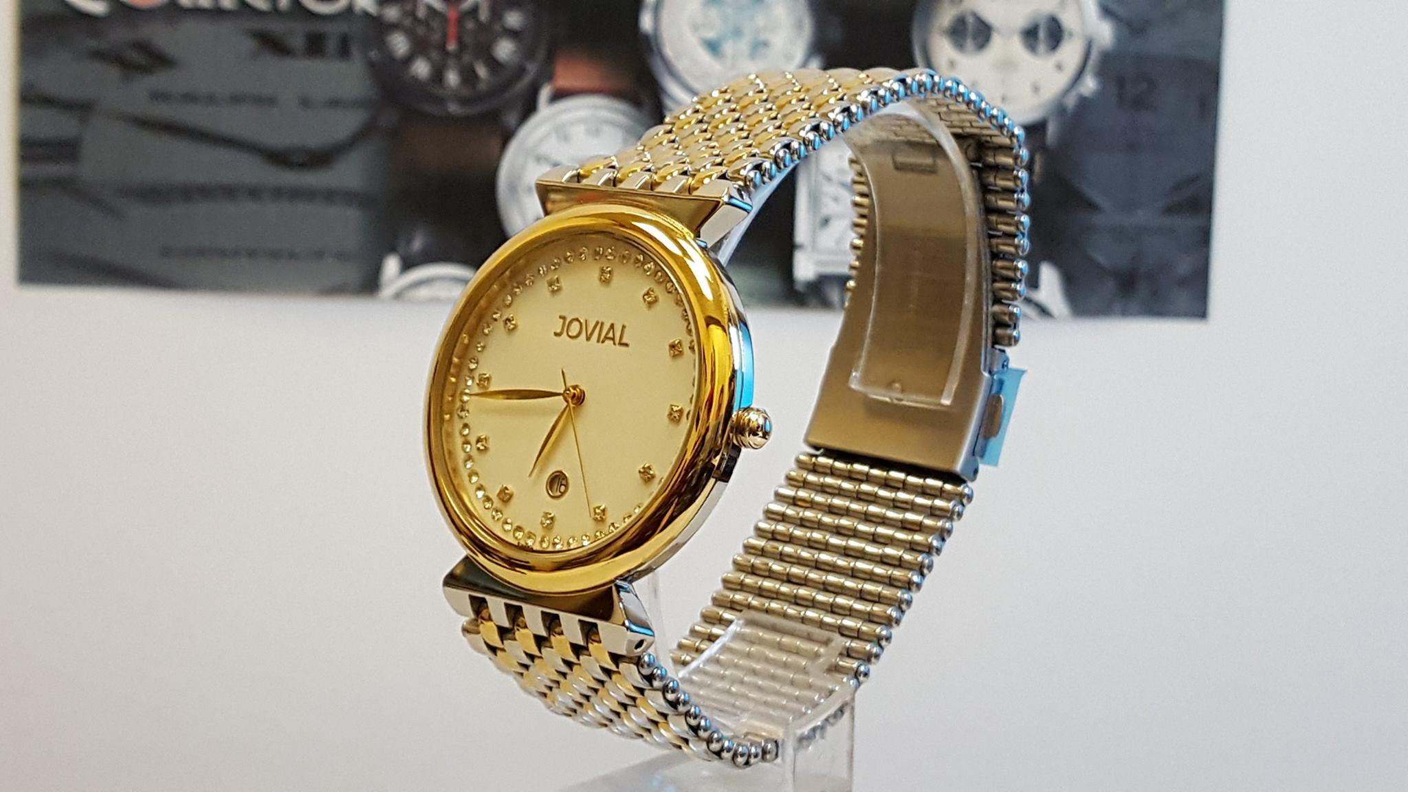 Jovial Gold mesh bracelet