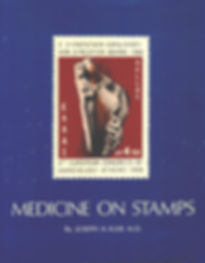 medicine on stamps album. www.medicalphilately.com, medical philately, postage stamps, postal, fdc