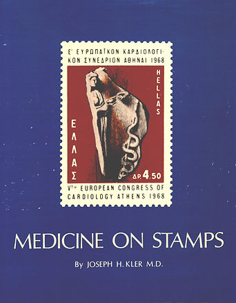 medicine on stamps album. www.medicalphilately.com, medical philately, postage stamps, postal, fdc