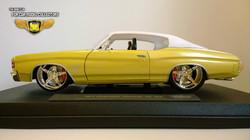 1971 Chevrolet Chevelle SS 454 1-18 Diecast