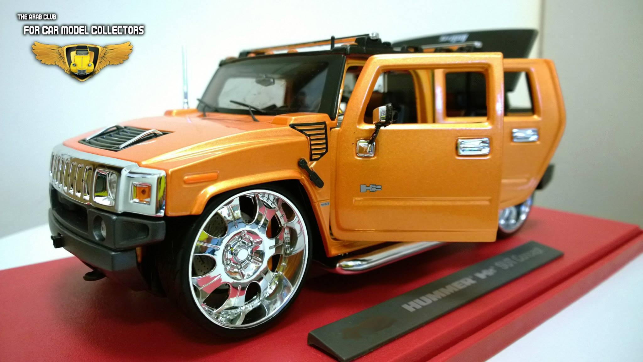 Hummer H2 SUT Concept Diecast 1-18