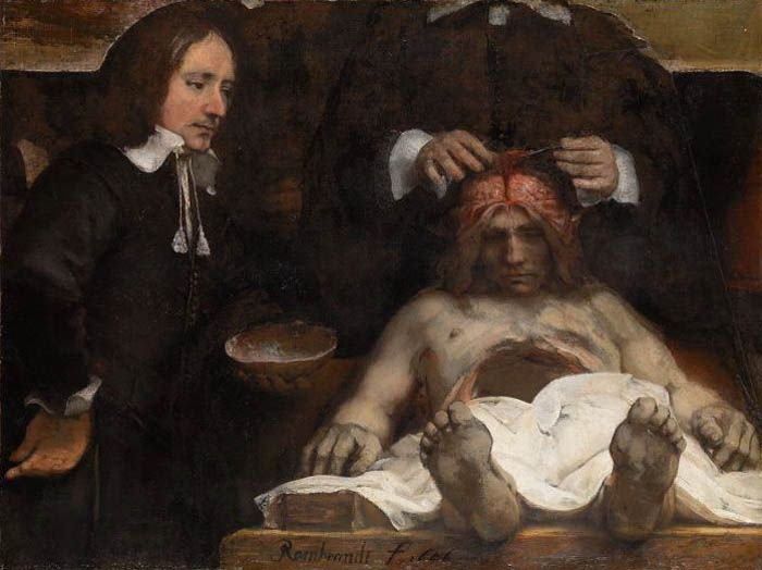 Rembrandt , The Anatomy Lesson of Dr. Deyman