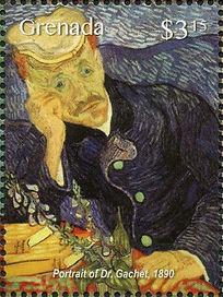 Portrait of Dr. Gachet by Vincent van Go