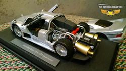 Mercedes Benz CLK GTR Diecast 1-18