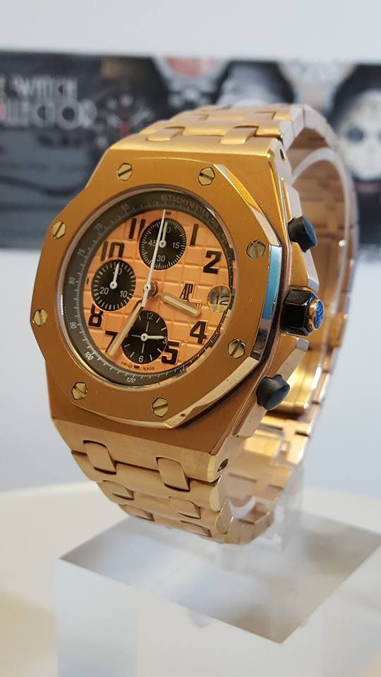 Audemars Piguet Royal Oak Offshore Chronograph Rose Gold