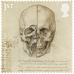 0 medical philately anatomy davinchy 2.p