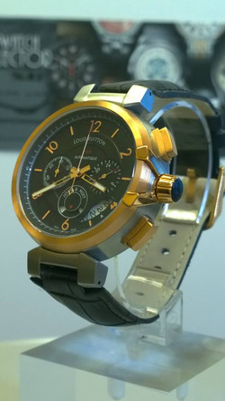 Louis Vuitton GMT Tambour eVolution Chronograph Automatique