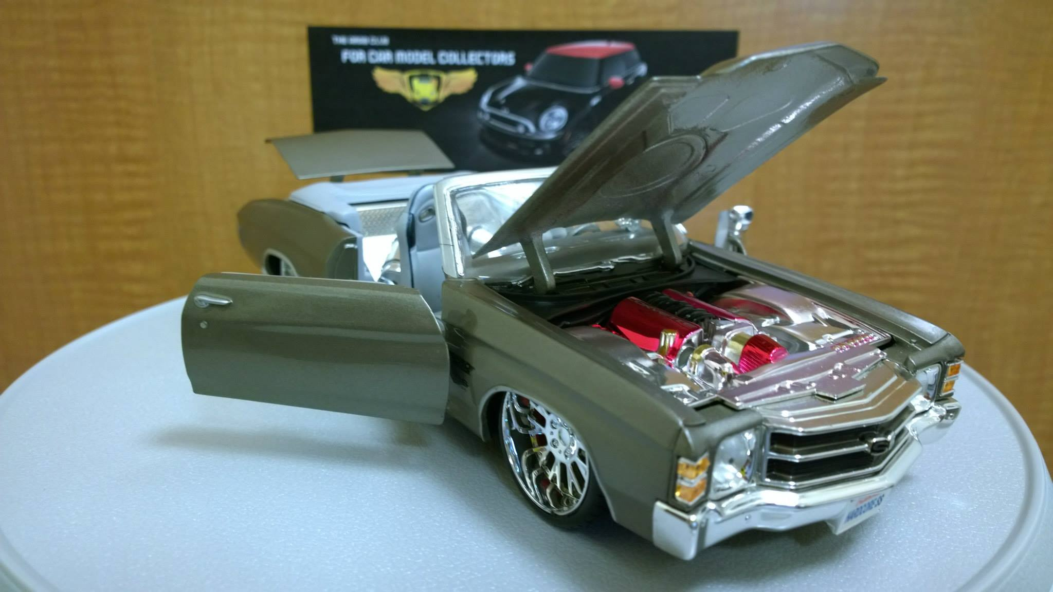Costumed 1971 Chevrolet Chevelle SS 454 Convertible 1-18