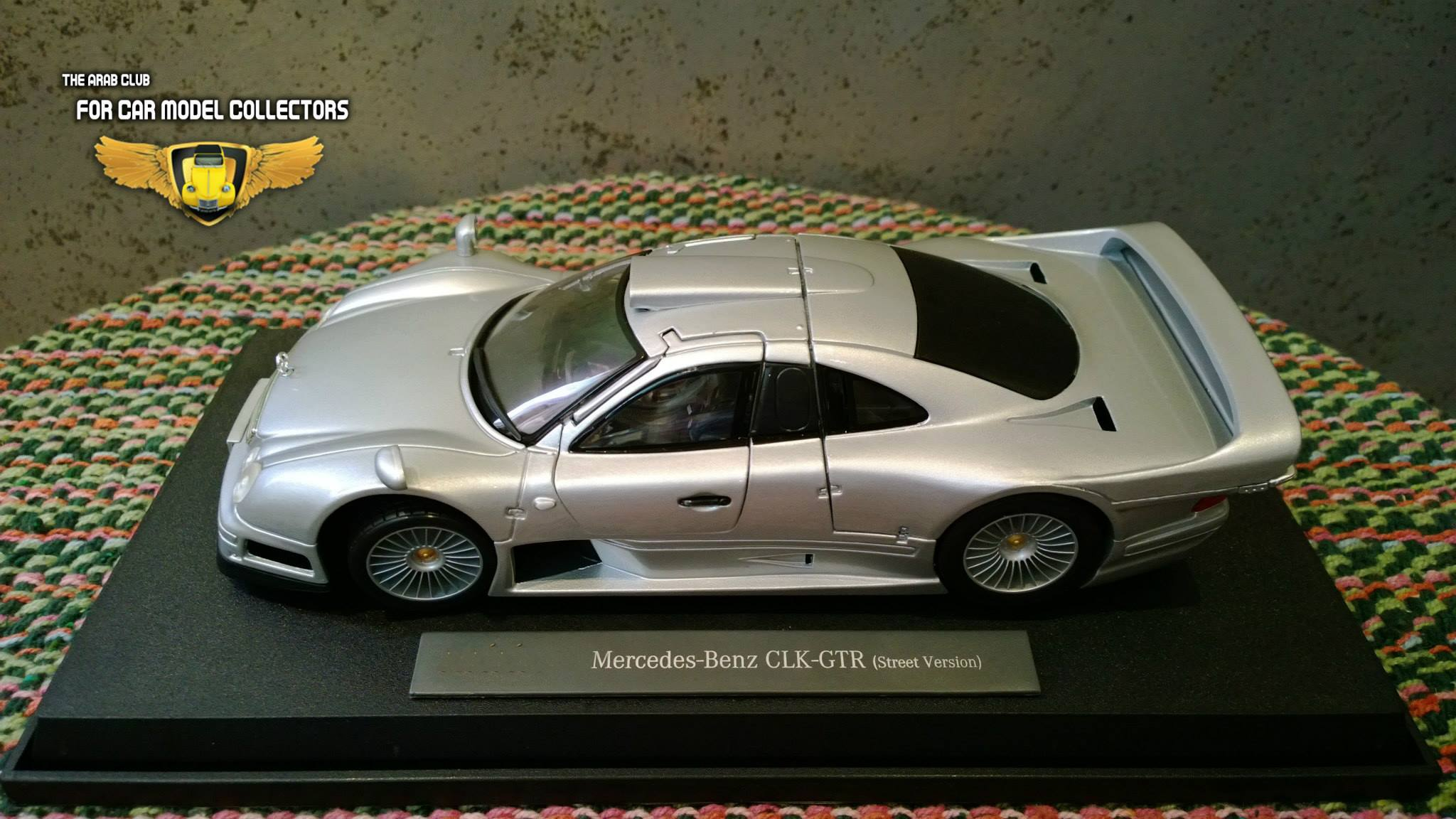 Mercedes Benz CLK GTR Diecast