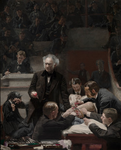 The Gross Clinic, 1875 painting by American artist Thomas Eakins