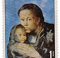Mother and sick child by Pablo Picasso s