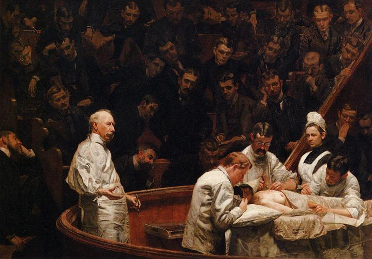 The Agnew Clinic, 1889 - Thomas Eakins