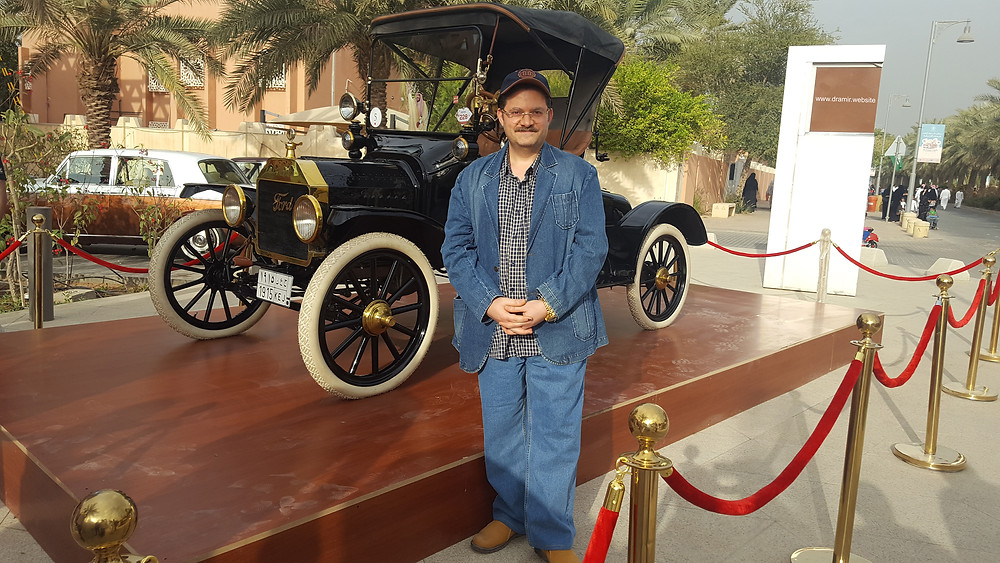 Dr Amir Monir, Vintage car fair