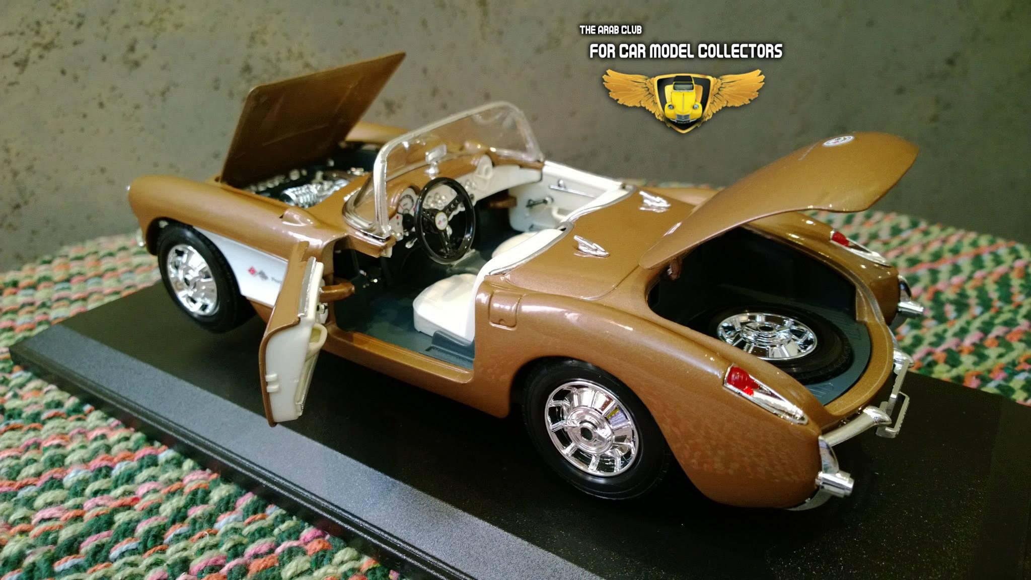 Chevrolet Corvette 1957 Diecast