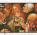 togo-circa-stamp-printed-togo-shows-jesu