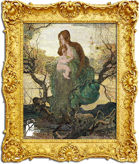 The Angel of Life, 1894, Mother and Chil