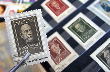 Medical Philately Famous Drs Main Page c