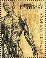 Andreas-Vesalius,medical philately,www.m