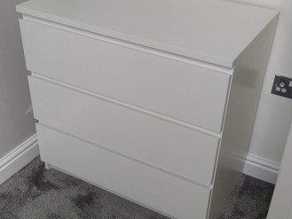 Ikea Malm Chest of Drawers - Assembled in Swansea - by Flat Pack Swansea