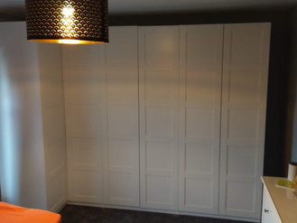 IKEA'S PAX MODULAR WARDROBE SYSTEM - BUILT BY FLAT PACK SWANSEA - FURNITURE ASSEMBLY EXPERTS