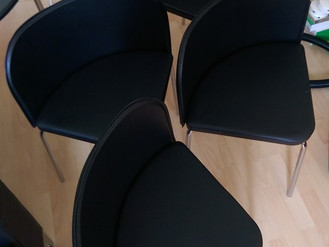 Four Hygena Amparo Chairs from Argos - Mount Pleasant, Swansea