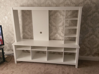 Tomnas TV Stand Media Unit from Ikea - Assembly in Penlan by Flat Pack Swansea