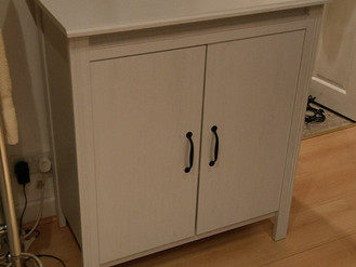 Ikea Malm Chest, Godmorgan Tall Cabinet and Brusali Dresser - Assembled in Grovesend, Swansea