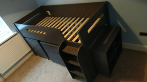 KIDS SLEEPER CABIN BED - ASSEMBLED IN SWANSEA VALLEY