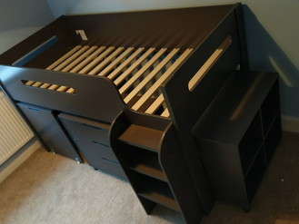 KIDS SLEEPER CABIN BED - ASSEMBLED IN SWANSEA VALLEY