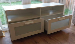 IKEA BRIMNES TV BENCH - ASSEMBLED IN BIRCHGROVE, SWANSEA