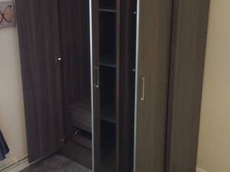 Three Door Wardrobe from Furniture 123 - Assembled in Llanelli by Flat Pack Swansea
