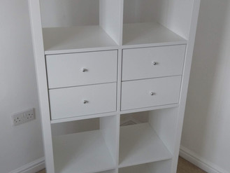 IKEA KALLAX STORAGE WITH DOORS AND DRAWERS - ASSEMBLED IN BIRCHGROVE BY FLAT PACK SWANSEA