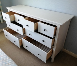 THE MASSIVE IKEA 8-DRAWER HEMNES - ASSEMBLED BY FLAT PACK SWANSEA