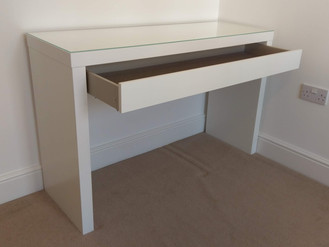 THE IKEA MALM DRESSING TABLE - ASSEMBLED IN NEATH, SWANSEA, WALES
