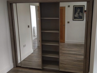 The Big Bergen 3 Door Sliding Wardrobe from Bensons for Beds - Assembled by Flat Pack Swansea