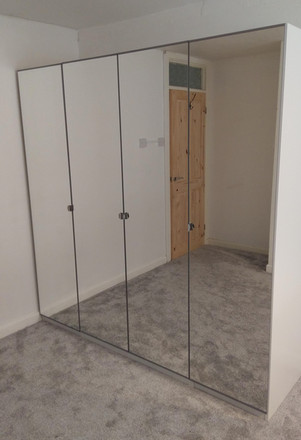 IKEA PAX WARDROBE ASSEMBLED IN SWANSEA