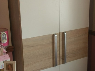 Delfi Wardrobes and Riviera Drawers from The Range - Assembled in Clydach, Swansea